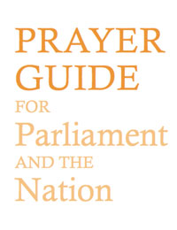 prayer Guide for Parilament and the Nation